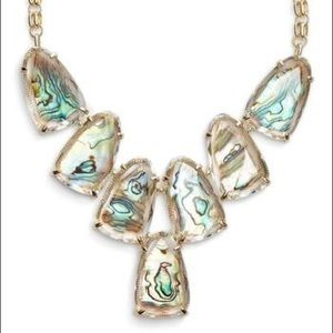 •Kendra Scott• Harlow Abalone Gold Plated Necklace